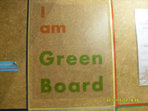 I am Green Board