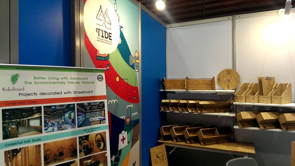 kokoboard in Thailand Innovation and Design Expo 2015 T.I.D.E