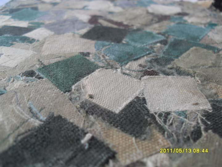 เศษผ้าม่านอัดแผ่น            Curtain Board